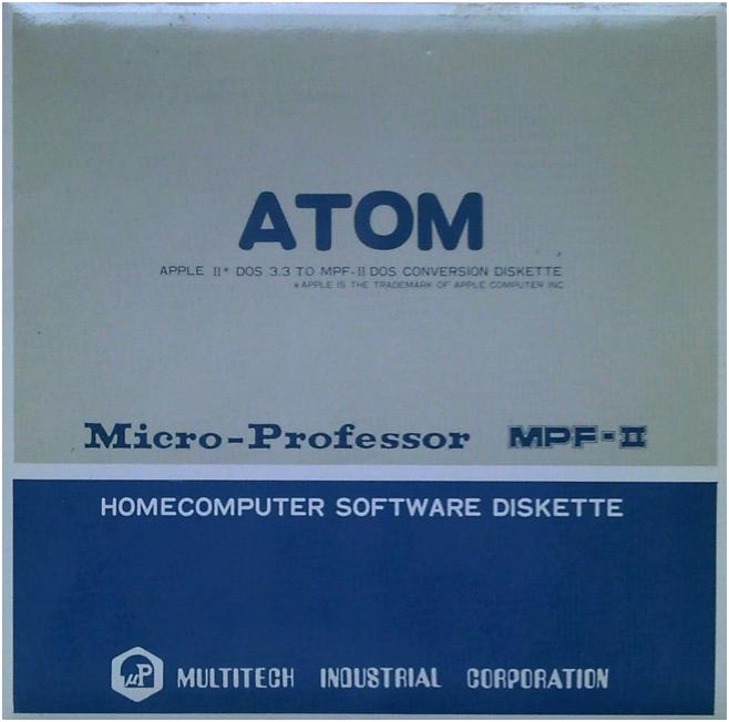 Funda del ATOM del MPF-II